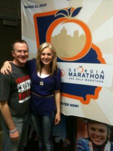 Dave & Lindsey - ING Georgia Half Marathon